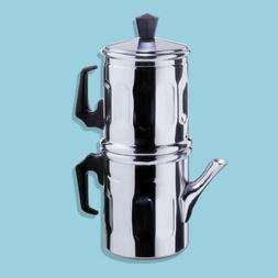 Ilsa 0006 006 Napoletana Espresso Coffee Maker Polished Alum
