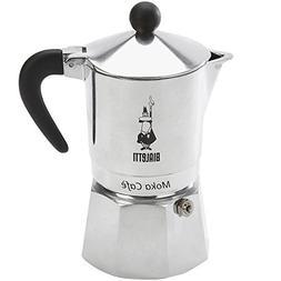 Bialetti, 06774, Moka Cafe 3 cup, Stove Top Espresso Maker,