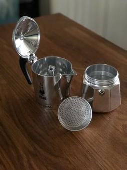 Bialetti 06799 Moka Express 3-Cup Stovetop Espresso Maker