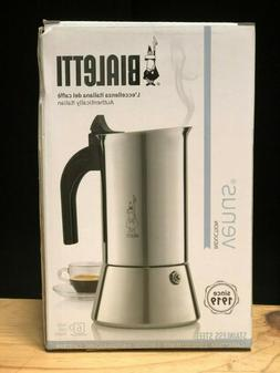 Bialetti 06969 Venus Stainless Steel Stovetop Espresso Coffe