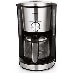 Comfee 10-Cup Coffee Maker, Eletric Machine, Strength Contro