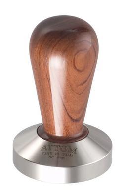 Motta 110 Professional Flat Base Coffee Tamper, 58mm, Bubing