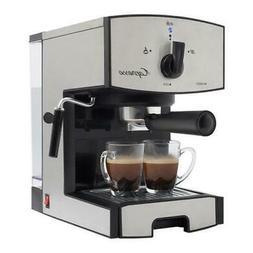 Capresso 117.05 Stainless Steel Pump Espresso  Cappuccino Ma