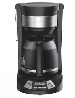 Hamilton Beach 12 Cup Programmable Coffee Maker - Black