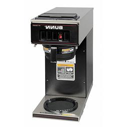 BUNN 13300.0011 VP17-1BLK Pourover Coffee Brewer with 1 Warm