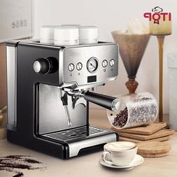 15 Bar Italian Semi-automatic Coffee Maker Cappuccino Frothe
