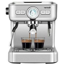 15 Bar Semi-Auto Espresso Coffee Maker Machine /w Milk Froth