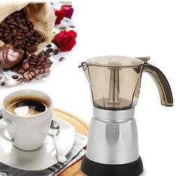 150/300Ml Portable Electric Coffee Machine Stainless Steel <