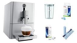 Jura 15116 ENA Micro 90 Espresso Machine, Micro Silver, Prom