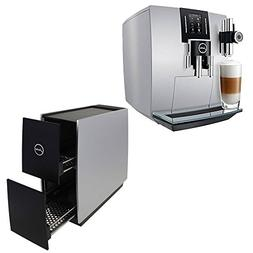 Jura 15150 J6 Coffee Machine, Brilliant Silver with Jura 722