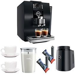 Jura 15182 Z6 Automatic Coffee Machine + Jura Glass Milk Con