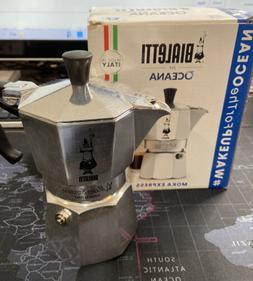 Bialetti 1662 Mocha Express 3 Cup Stovetop Espresso Coffee M