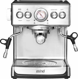 Brim 19 Bar Espresso Maker - Model TSK1859B - Silver - Brand