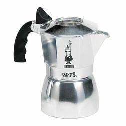 Bialetti 2 Cup Brikka Espresso Maker  Aluminum Stovetop Coff