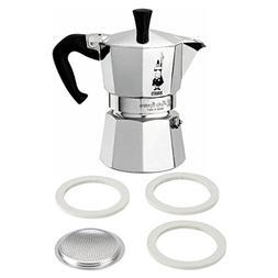 Bialetti Moka Express Aluminum 9 Cup Stove-top Espresso Make