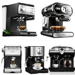 20 Bar Semi Automatic Coffee Maker Barista Espresso Machine