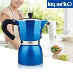 240ml Aluminum Italian Moka Express 6-Cup Stovetop Espresso