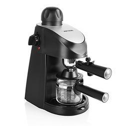 BESTEK 3.5 Bar Steam Espresso and Cappuccino Maker Coffee Ma