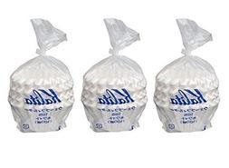3 X Kalita: Wave Series Wave Filter 185  White. 300 Pieces