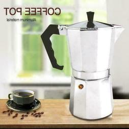 Primula  3 & 6 Cup Moka Express Espresso Maker - Aluminum Co