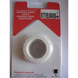 3 gaskets and 1 filter for aluminium coffee-pots Bialetti 2