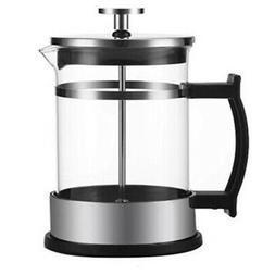 350Ml Manual Coffee Espresso Maker Pot Stainless Steel Glass