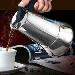 4 6cup coffee maker pot espresso latte