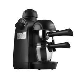 4 Cups Steam Coffee Maker Espresso Machine Cappuccino Coffee