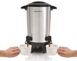 Hamilton Beach 45 Cup Dual-Spout Coffee Urn  Model 40518 Sta