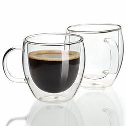 Sweese 4601 Espresso Cups Shot Glass Coffee 5 Oz Set of 2 -