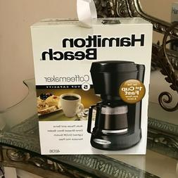 Hamilton Beach5-Cup Personal Coffee Maker, Black, Model #