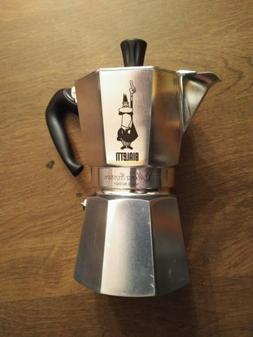 Bialetti 6 Cup Moka Express Stovetop Espresso Aluminum Coffe