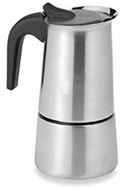6 cups stainless steel cuban espresso coffee