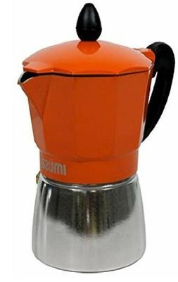 6 Cups Imusa stove top Aluminium Espresso Coffee Maker cafet
