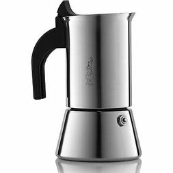 Bialetti 6968 Induction Stove Top 4 Cup Espresso Coffee Make
