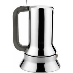 Alessi 9090/1 Stove Top Espresso 1 Cup Coffee Maker In 18/10