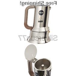 9090 m espresso coffee maker silver 17