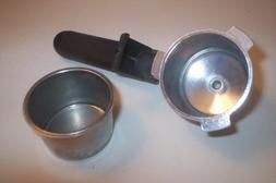 Krups 963A Espresso Coffee Machine's Filter Holder With Filt