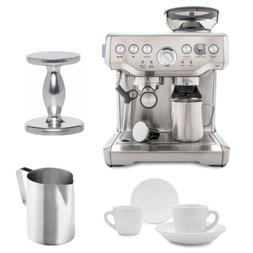Breville BES870XL Barista Express Espresso Machine with Espr