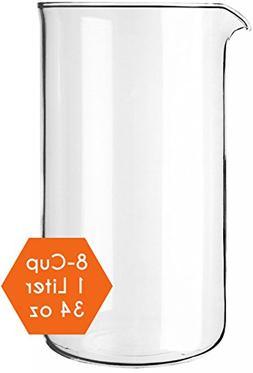 Cozyna Universal, 1L | 34oz, Borosilicate Spare Glass Carafe