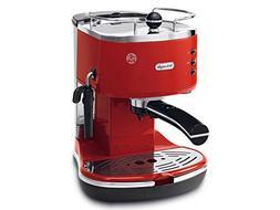 De'Longhi Icona ECO310.R Pump Espresso Machine, Scarlet Red