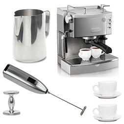 DeLonghi EC702 15-Bar-Pump Espresso Maker with Deluxe Access