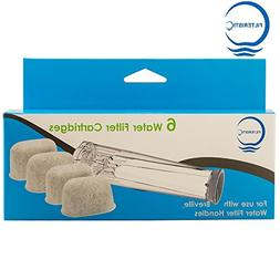 Filteristic Six Single Cup Brewer Replacement Charcoal Filte