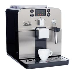 Gaggia Brera Super Automatic Espresso Machine in Silver. Pan