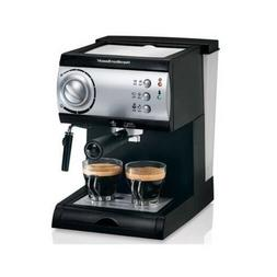 Hamilton Beach Espresso Maker powerful 15-bar Italian pump