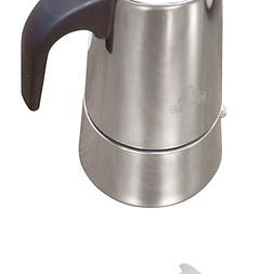 IMUSA USA B120-22061M Stainless Steel Stovetop Espresso Coff