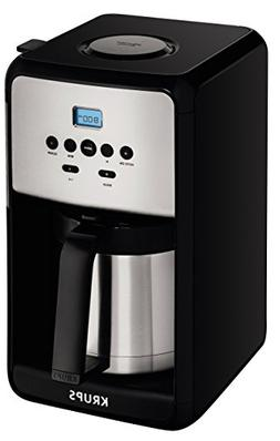 KRUPS ET351 Coffee Maker, Coffee Programmable Maker, Thermal