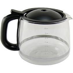 KRUPS XS1500 Glass Carafe for KRUPS Combi Machines, 10-Cup,