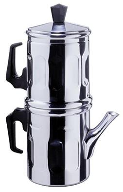 Neapolitan Coffee Maker 3 Cup Size Stainless Steel