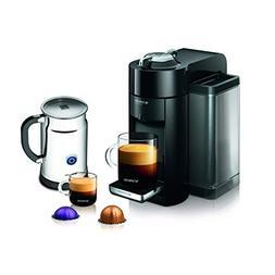 Nespresso A+GCC1-US-BK-NE VertuoLine Evoluo Deluxe Coffee &